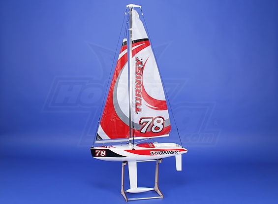 Turnigy 610mm en fibre de verre Racing Yacht Voilier ARTR