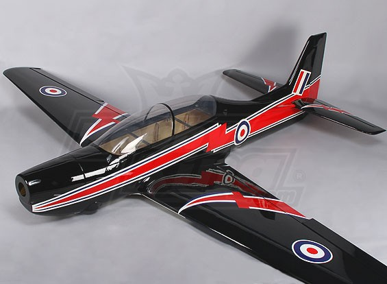 (Complet) Short Tucano RAF 30cc en fibre de verre 2150mm (ARF)