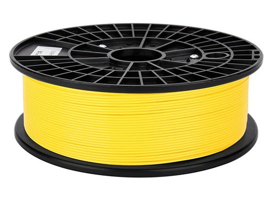 CoLiDo 3D Filament Imprimante 1.75mm PLA 500g Spool (Jaune)