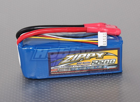 ZIPPY FlightMax 2200mAh 4S1P 45C