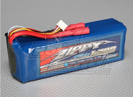 ZIPPY FlightMax 4200mAh 3S2P 30C LiFePo4 Paquet