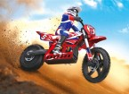 Super Rider SR5 1/4 Échelle RC Motocross Bike (RTR) (prise UK)