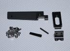 96mm Rudder Et Support Set - Mer Feu / Surge Crusher / Super Version Surge Crusher