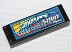 ZIPPY 5900mah 2S2P 60C Hardcase Paquet
