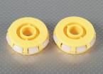 51x17mm plastique Omni Wheel (2Pcs / Bag)