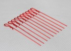 De longues lourds Clips Duty Body (Red) (10Pcs)