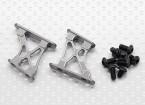 1/10 aluminium CNC Tail / Wing soutien Frame-Small (Titanium)
