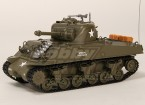 US-M4A3 Sherman Medium RC Tank RTR w / Tx