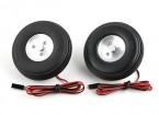 """Turnigy électrique magnétique Roues de frein (No Controller) 72mm (2.9 """") roue (2pc)"""