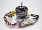 HobbyKing âne ST3511-810kv Brushless System Power Combo