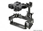 Shock Absorbing Kit 2 axes Brushless Gimbal pour Type de carte Caméras - Carbon Fiber Version