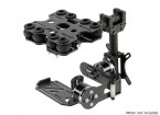 Shock Absorbing 2 Axis Brushless Gimbal pour Gopro Caméras - Carbon Fiber Version