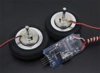 """Dr. MadThrust 2.0 """"/ 51mm Wheels principale avec système de freinage magnétique Electro (2pc)"""