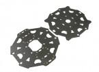 Tarot T810 et T960 Hexa-copter plaque principale (Haute et Basse)