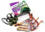 MultiStar & Afro Combo Pack - 2216-800KV et appariés 20A ESC Afro Set de 4 CW / CCW