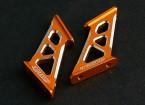 Actif Hobby Aluminum Wing Support de type B (Gold)