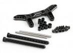 Actif Hobby Tamiya TT-02 Kit de conversion de suspension réversible - Rear (Black)