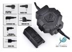 le style Z Tactical Z123 Ztac Wireless PTT (Motorola 2 broches)