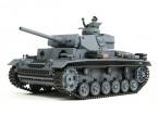 Panzer III Ausf.L (Gris) RC Tank RTR w / Airsoft et Tx (prise UE) (UE Entrepôt)