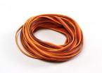 26AWG Servo Fil 5mtr (Rouge / Brun / Orange)