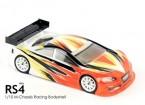 BLITZ Mini RS4 Race Body (210mm) (0.8mm)