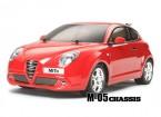 Tamiya 1/10 Alfa Romeo MiTo w / M05 Châssis Kit 58453