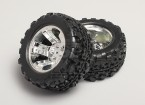 1/8 Monster Truck & Wheel Tyr 12mm Hex (2pc)