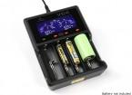 XTAR VC4 Chargeur pour Ni-MH / Batteries Li-ion (4 ports)