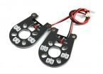 Jumper 260 plus lumières LED Assy (Rouge) (2pcs)