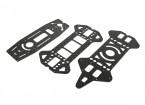 Jumper 218 Pro Haute et Basse Decks (fibre de carbone) (3pcs)
