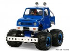 Tamiya 1/10 Echelle Suzuki Jimny (SJ30) Wheelie Kit Blue Style 58576