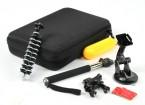 Livré action Cam Accessoires pour Turnigy Action Cams ou GoPro (12pcs)