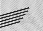 0.5x3x750mm de bande de carbone (5pcs / set)