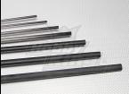Fibre de carbone Tube (creux) 3x2x750mm