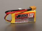 Rhino 1350mAh 3S 11.1v 25C Lipoly Paquet