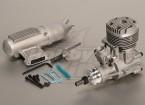 ASP S61a Deux maladies Glow moteur w / Remote HS Needle Valve