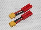 HXT 4mm à XT-60 Adaptateur de batterie (2pcs / sac)