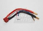 T-connecteur Fiche Harnais pour Lipo 2S Lipo (1pc)