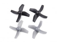 Blue Wren H36 FPV Drone Replacement Propellers Grey/Black (CW/CCW) (2pairs)