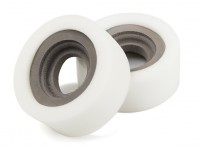 """DC Chequered Flag 1:10 Double Section 1.9"""" Type B Soft Crawler Tire Inserts (2pcs)"""