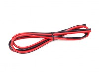 Turnigy High Quality 14AWG Silicone Wire 1m Bonded Pair (Black/Red)
