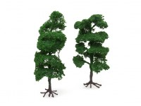 HobbyKingModel Railway Scale Trees with Roots 160mm (2 pcs)