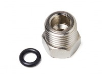 A5(silver)1/8'' BSP female-1/4'' BSP male