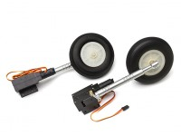 Turnigy Full Metal Servoless 90 Degree Twist n Tourner / roues de Retracts / jambe 1.20 taille (P-40)