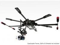 Quanum rétractable Gear Set pour le Pro Hexa-Copter 680UC