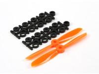4045 électrique Hélices (CW et CCW) Orange 1 paire / sac