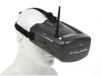 Quanum Cyclops FPV Goggle w / Monitor intégré et récepteur