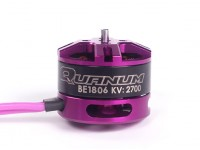 BE1806P 2700KV de couleur pourpre avec écrou de nylon violet (CCW)