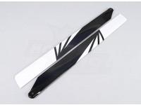 690mm de haute qualité en fibre de carbone principal Lames