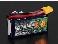 Turnigy nano-tech 1000mAh 3S 45 ~ 90C Lipo Paquet